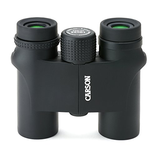 Carson VP Series Compact 10x25-mm Waterproof and Fog Proof Binoculars in Black (VP-025)