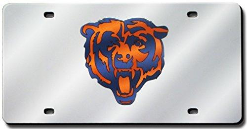 Chicago Bears Laser License Plate - 9