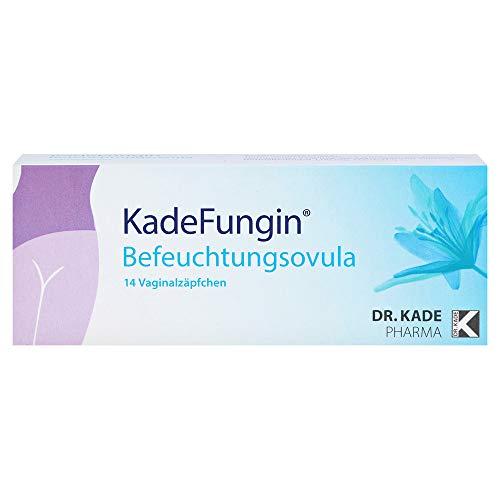 KadeFungin Befeuchtungsovula Vaginalzäpfchen, 14 St. Zäpfchen