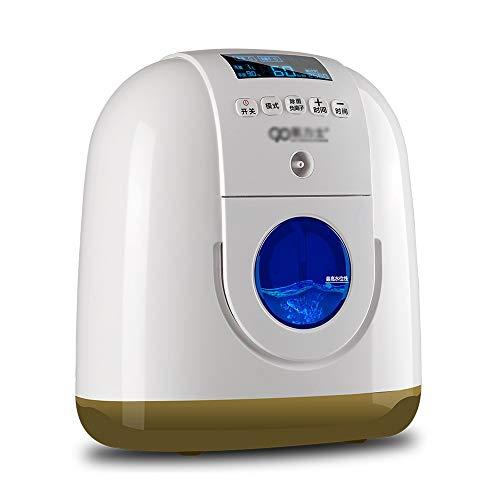 XuQinQin Tragbarer Sauerstoff-Maschinen-Haushalts-Sauerstoff-Absorber-alte kleine schwangere Frauen Tragbare Sauerstoff-Maschinen-Flasche mit 8-stufigem Filtrationssystem und Zerstäubung Sauerstoffgen