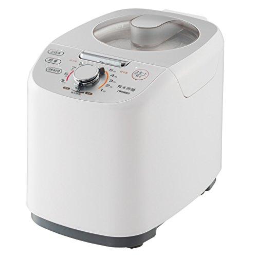 TWINBIRD compact rice milling device rice Gozen white MR-E751W