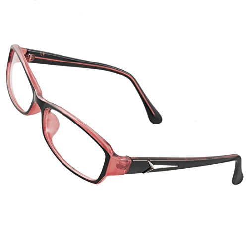 Lady Black Color Rosa Plástico Full Frame Multi recubierta lente Plain vasos...