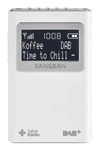 Sangean DPR-39 Radio Dab+ / FM-RDS - Radio (Portátil, Dab+,FM, 87,5-108 MHz, CT,PS,PTY,RT, LCD, Blanco)