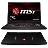 MSI GE75 9SG-826 Raider (43,9 cm/17,3 Zoll/144Hz/3ms) Gaming-Laptop (Intel Core i9-9880H, 32GB RAM, 1TB PCIe SSD, Nvidia GeForce RTX2080, Windows 10) schwarz