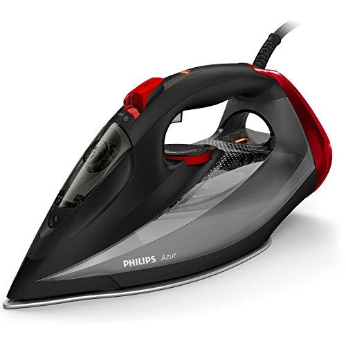 Philips Azur Steam Iron - 250 g Steam Boost - 2600 W - With SteamGlide Soleplate - 2.5 m Power Cord - Water Spray – GC4567/86