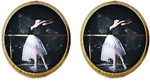 Orecchini da ballerina con foto di arte gioielli regalo di compleanno