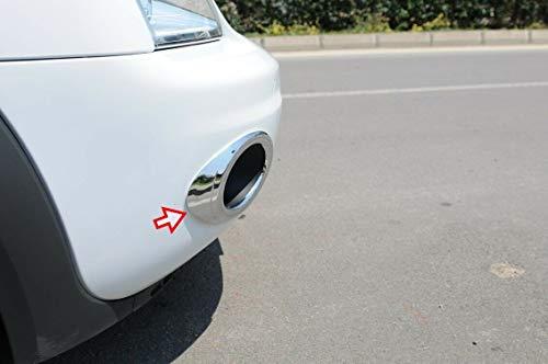 Cubierta para faros antiniebla delanteros ABS cromada para Transit Tourneo Connect [2009-2013] [2 piezas]