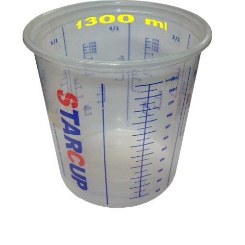 Ludwiglacke 20 Mischbecher 1300 ml