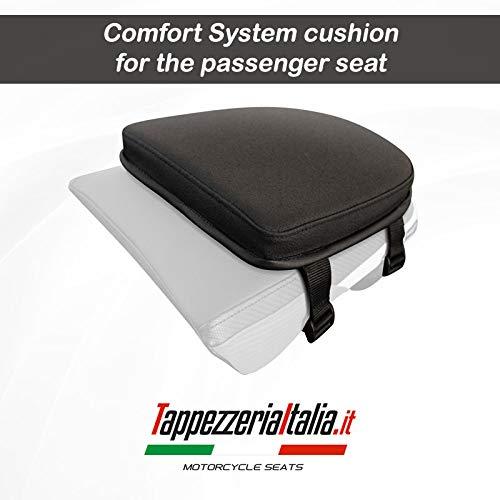 Cojín de espuma viscoelástica para sillín trasero de moto de tapicería, Italia, selecciona tu moto (Honda - NC 700/750X - S)