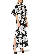 Marchio Amazon - Truth & Fable Vestito con Apertura Donna