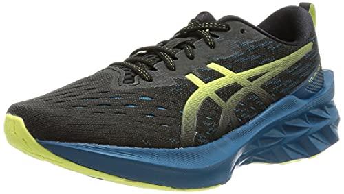 ASICS Novablast 2, Zapatillas de Running Hombre, Black Glow Yellow, 46 EU