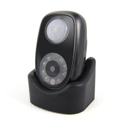 Incutex Mini Überwachungskamera Micro SD Infrarot-Kamera 48 x 36 mm