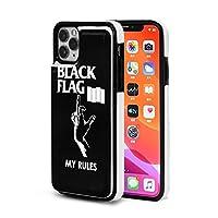 ブラック・フラッグ Black Flag iPhone 11/iPhone 11 Pro/iPhone 11 Pro Max 適用 ケース カード収納 スタンド機能 財布型 スマホケース 耐衝撃 全面保護カバー