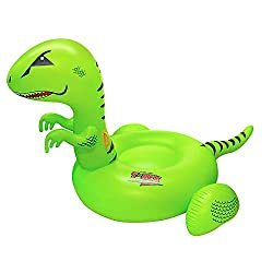 1. Swimline T-Rex Giant Ride On