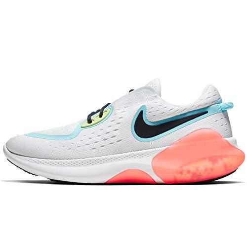Nike Women's Joyride Dual Run Running Shoes (6.5, Summit White/Glacier Ice/Sapphire)