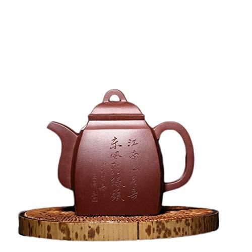 Teapot Quality Handmade Yixing Teapot Ore Purple Clay Pot Of Chinese Kung Fu Tea Party Teapot Quartet Tea Maker Sand Pot Classic Tea Set (Color : Purple mud)