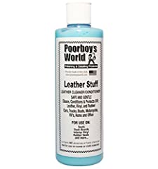 Leather Cleaner and Conditioner Cleans, Conditions and Protects Safe and Gentle Great leather scent 473ml (16oz)