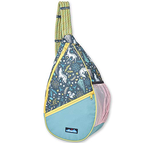 KAVU Paxton Pack Rope Sling Crossbody Bag - Fairy Trail