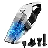 Handheld Vacuum, ONSON Hand Vacuum Cleaner Cordless with 14.8V Li-ion Battery, 8Kpa Powerful Rechargeable Wet Dry Vacuum for Cars, Furniture Stairs and Pet Hairs