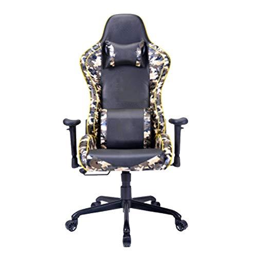 Silla giratoria de oficina para juegos, silla de ordenador, silla de ordenador Home Dormitory Student Chair Gaming Silla ergonómica