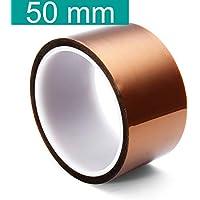 Youmile 5 Tamaño 5 mm 10 mm 20 mm 30 mm 50 mm 30 m / 100 pies BGA Película de Alta Temperatura Cinta de Kapton de poliimida Resistente al Calor Resistente al Oro Adhesivo