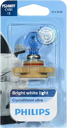 Philips 12086FFCVB1 CrystalVision Ultra Upgrade PS24W Fog Bulb (12086)