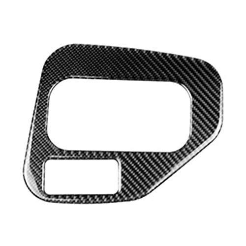 MITANG Star Firm Marco Decorativo de Fibra de Carbono Engranaje de Cambio de Mando Pegatina Pegatina de Ajuste de Ajuste para BMW 5 Series E39 98-05 (Color Name : Carbon Fiber Color)