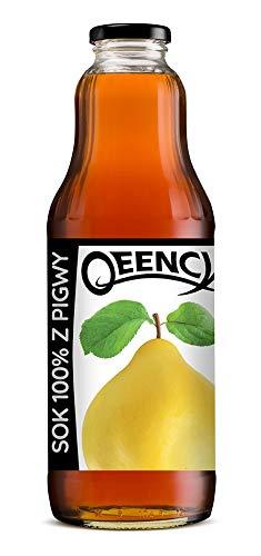 QEENCY - Quittensaft 100% 1 l nicht konzentrierter Saft, natürlich und vegan Hoher Vitamin C-Gehalt 6er-Pack ( 6 x 1000 ml )
