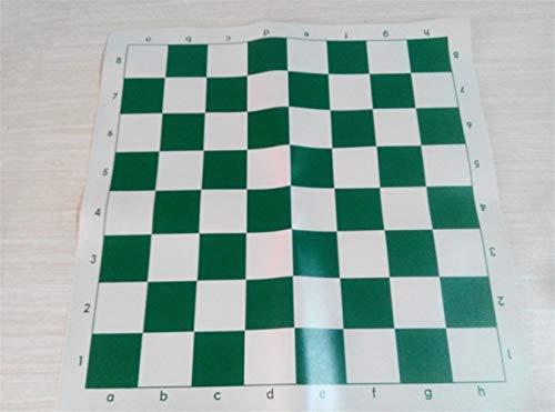 JINGBA AAA Calidad Junta Internacional de Ajedrez de Vinilo Material de Goma Tamaño 35cm * 35cm / 43cm * 43cm / 51cm * 51cm de ajedrez Tablero de Juego de ajedrez for la Educación ( Color : 51cm )