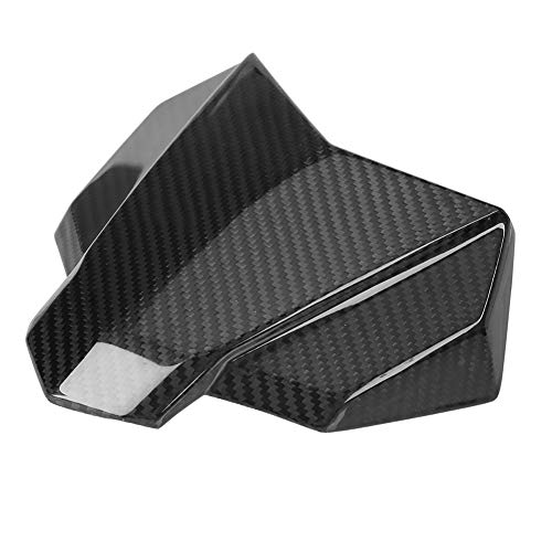 Qiilu Motorcycle Windshield Protector,Carbon Fiber Windscreen Panel Cover for MT-10/FZ-10 2016-2018