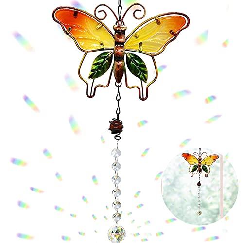 Colgantes de Cristal,Atrapasoles,Atrapasoles de Cristal Colgante,Bola de Cristal con Prisma Transparente,Adecuada para Ventana,Patio,JardíN,HabitacióN,DecoracióN del JardíN del Hogar