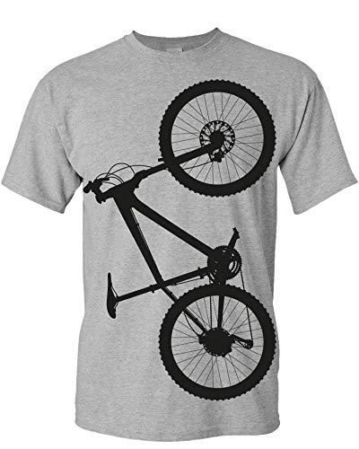 Bicicletta Maglietta: MTB Hardtrail - Mountain-Bike T-Shirt da Bicicletta Come Regalo per i Ciclista - Bike Fixie- BMX Montagna Downhill Maglia Uomo - Sport Outdoor (M)