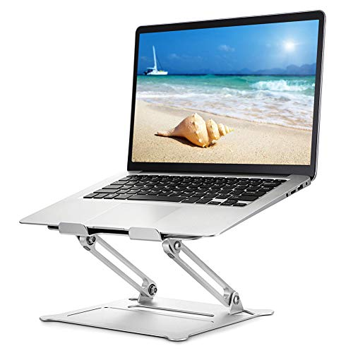 Usoun Laptop Stand, Laptop Holder, Multi-Angle Stand with Heat-Vent, Adjustable Notebook Stand for Laptop up to 17 inches, Compatible for MacBook Air, Pro, Dell, Samsung, Lenovo, Alienware