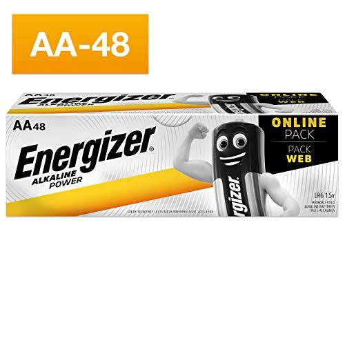 Energizer Batterien AA, Alkaline Power, 48 Stück