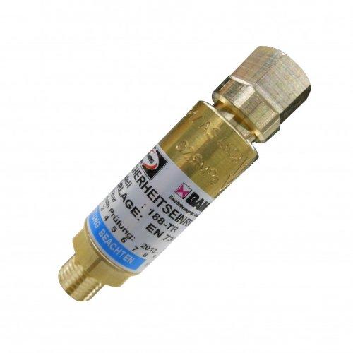 Explosionsschutz HARRIS/KAYSER Rückschlagsicherung Sauerstoff