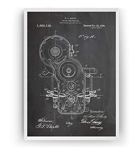 Retro Vintage 1920 Wall Art Poster