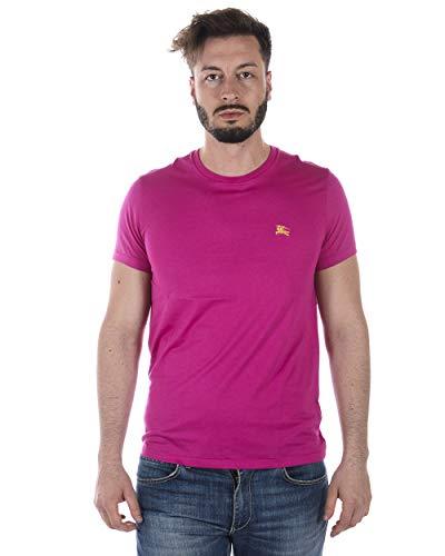 Burberry 5745AA Maglia Uomo JOEFORTH Cotton Fuxia t-Shirt Man [L]