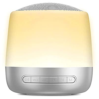 White Noise Machine | LISOPO Sleep Sound Machine for Baby Kid Adult | 28 HiFi Soothing Sound | 13 Modes Night Light with Touch Control | Timer & Memory Function | Sleep Therapy for Home Office Travel
