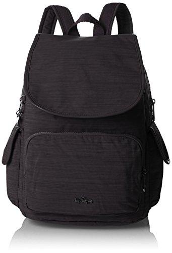 Kipling - City Pack, Mochilas Mujer, Schwarz (Dazz Black), One Size
