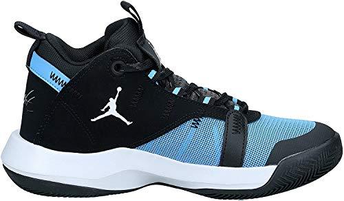 Nike Unisex Kinder Jordan Jumpman 2020 (GS) Basketballschuh, University Blue/METALLIC Silve, 38 EU