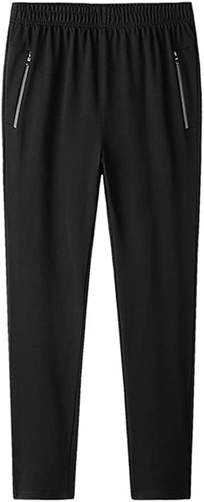N\P Pantalones deportivos de los hombres de talla grande pantalones de los hombres de la calle ropa deportiva casual