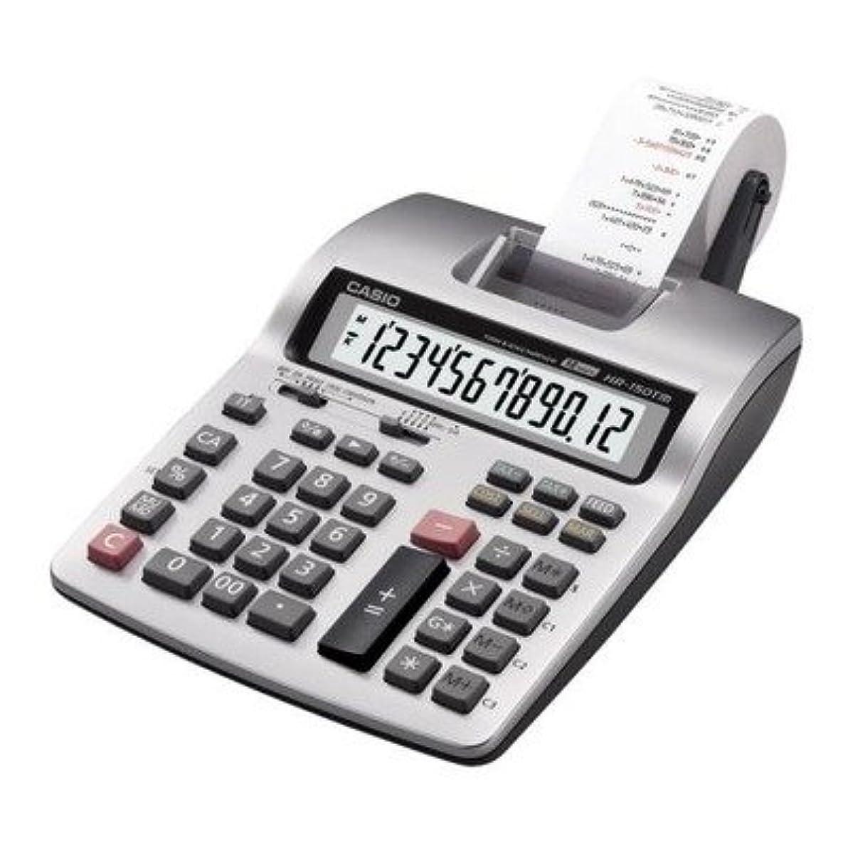 ディンカルビル影響力のある元気なcsohr150tmplus?–?印刷電卓、12桁、6?–?1?/ 3?x 10?–?5?/ 8?x 2?–?1?/ 2、LGY