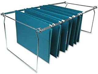 Sparco Hanging File Folder Frames Stainless Steel Letter Size Width and Adjustable Length  SPR60529 (2 Pack)