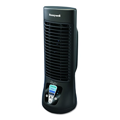 Honeywell HTF210B Quiet Set Personal Table Fan , Black