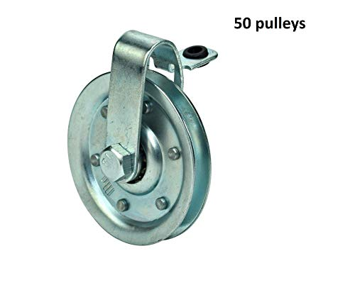 Lowest Prices! 3-Garage-Door-Pulley-with-Cable-Restraint 50 Pulley