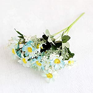 Artificial and Dried Flower 1PC 18Head Cosmos Artificial Flower Wall Dried Flower Fake Flower Decoration Flowers for Home Party Wedding Acces