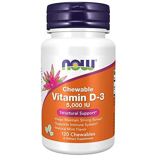 NOW Foods Vitamin D-3 (120 Servings)