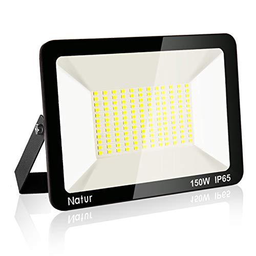 150W LED Foco Exterior, Proyector Foco Led Blanco Frío 6000K...