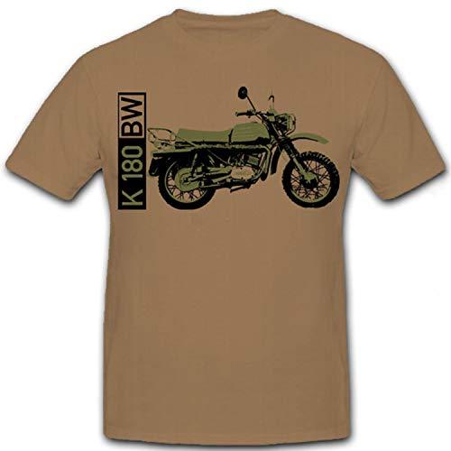K 180BW Moto Art-Land krad krad Detector Bundeswehr BW–Camiseta # 7299 arena Large