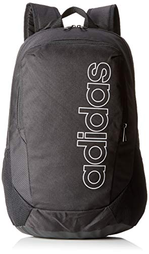 adidas BP Log Parkhood Mochila, Unisex Adultos, Negro/Blanco, 36x24x45 cm (W x H x L)